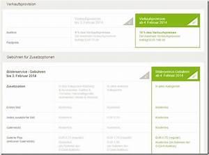 Ebay Verkaufsprovision Berechnen : ebay erh ht seine verkaufsprovision auf 10 prozent ~ Themetempest.com Abrechnung