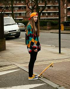 Skater look! Also i love that sweater.   Aesthetic Outfits ...