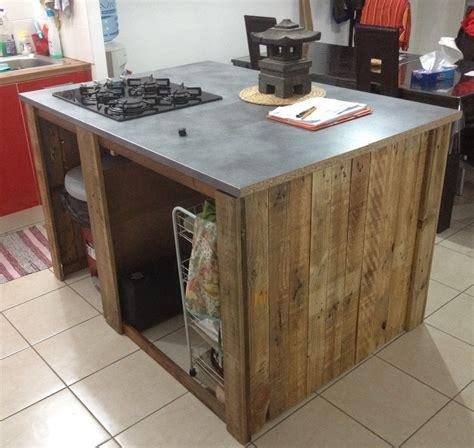 fabriquer ilot central cuisine meuble pour ilot central cuisine simple diy ides dulots