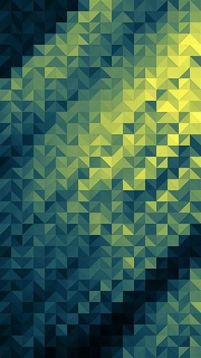 Iphone Pattern Dark Polygon Background Geometric Triangle