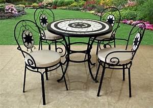 Gartenmöbel Tisch Metall : gartenst hle aus metall 33 vorschl ge ~ Markanthonyermac.com Haus und Dekorationen