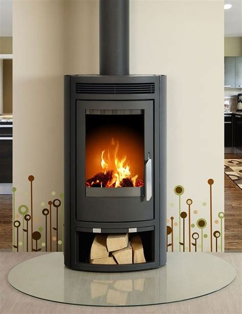 modern wood fireplace arctic 5kw curved contemporary modern wood burning stove Modern Wood Fireplace