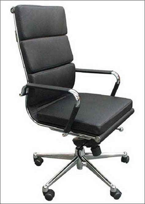 white leather modern office chair d 20130404160713523