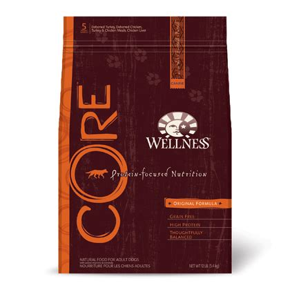 wellness core grain  dry dog food petmeds