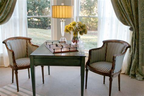 Desks For Rooms by Custom Designed Writing Desk Traditional Living Room