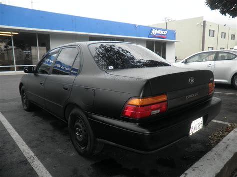 marvelous matte black automotive paint  flat black car