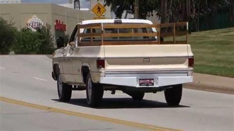 chevrolet custom deluxe  pickup truck youtube