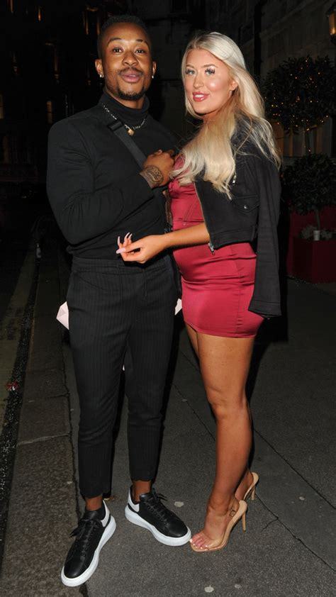 Love Islands Eve Gale steps out with Casa Amors Biggs ...