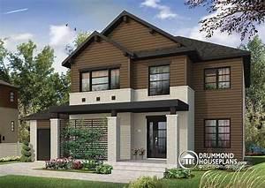 house plan w3720 detail from drummondhouseplanscom With marvelous modele de maison en l 6 maison neuve