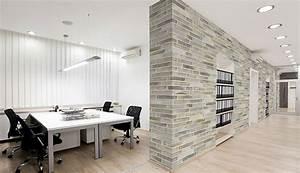 Papier Peint Bureau : carta da parati effetto mattoni 20 modelli sorprendenti ~ Melissatoandfro.com Idées de Décoration