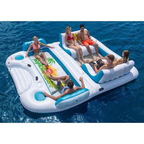 Tropical Tahiti Floating Island for the pool, beach or