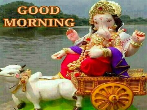 lord ganesha whatsapp good morning images  festival chaska