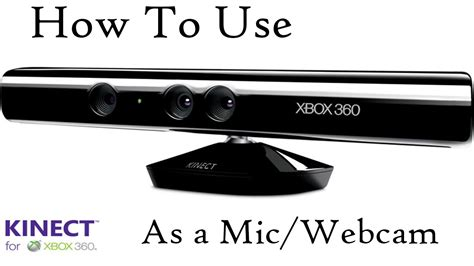 how to use xbox 360 kinect as a mic