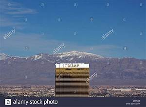 A View Of The Trump Las Vegas Hotel From The Top Of Paris ...