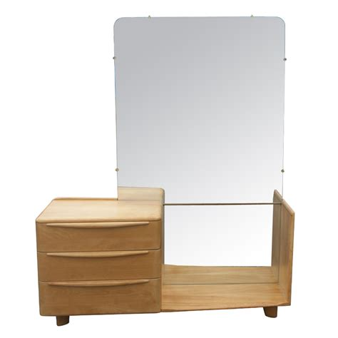 Heywood Wakefield Dresser With Mirror by Vintage Heywood Wakefield Wheat Encore Vanity Mirror Ebay