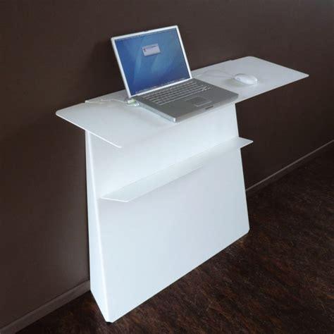 bureau console blanc console bureau d appoint en acier zeta studio manzano
