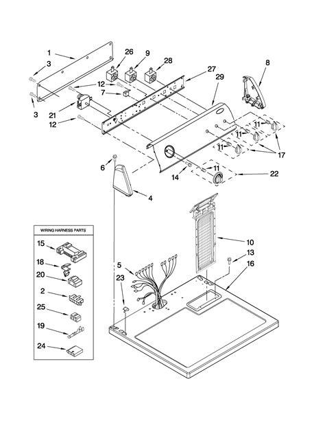 amana model nedvq residential dryer genuine parts