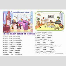 Prepositions Of Place Worksheet  Free Esl Printable Worksheets Made By Teachers