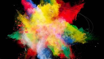 Wallpapers Explosion Rainbow Explosions Wallpaperplay Loo Wallpapersafari