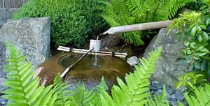 Japanisches Wasserspiel Selber Bauen Bambus Wasserspiel Selber
