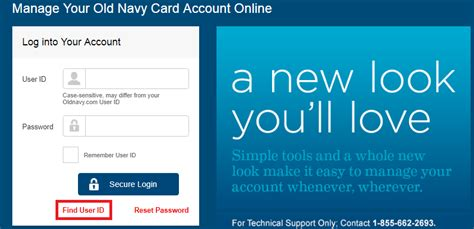 This means that when you shop online or pay over the phone, and your credit card does. Log into your Old Navy Credit Card account and Bill Pay Online