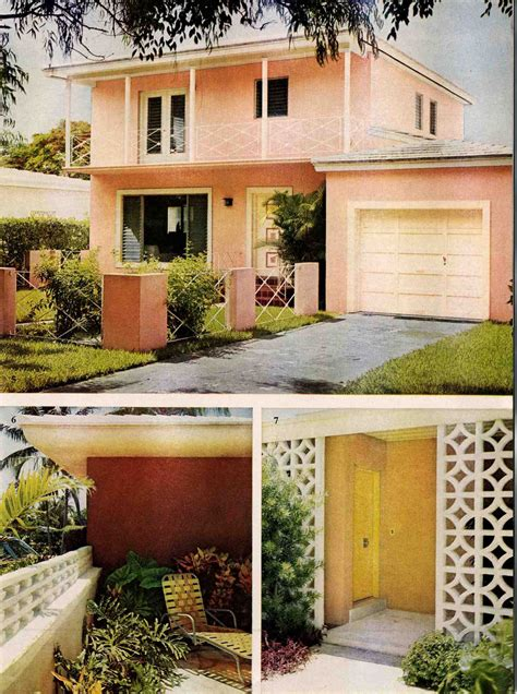 exterior colors for 1960 houses pinterest mid century