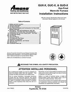 Amana 90 Furnace Wiring Diagram