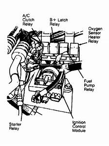 Where Exactly Is The Fuel Pump Relay On A 89 Cherokee
