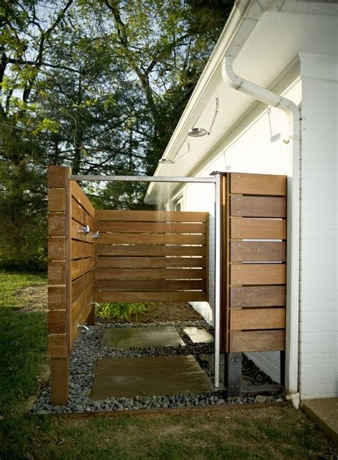Great, Simple Outdoor Shower Idea  Outdoor Cottage