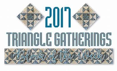 Triangle Lisabongean Gatherings Quilt Lisa Bongean Fun