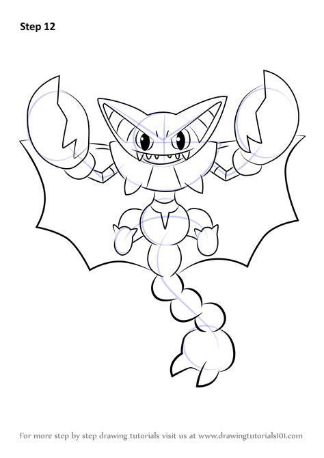 learn   draw gliscor  pokemon pokemon step