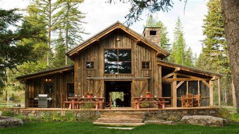 Small Porch Decor, Rustic Barn House Plans Rustic Pole