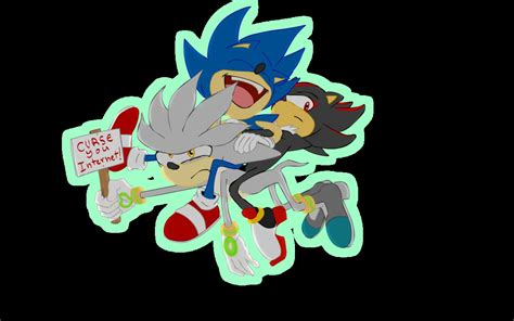 Sonic Drives Silver Mad By Miguy99 On Deviantart