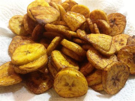 cuisiner les bananes plantain bananes plantain frites chez cyril