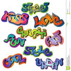 Cool Graffiti Words