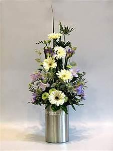 Triangular Flower Arrangement