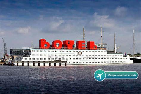 Hotel On A Boat Amsterdam 2nt amsterdam boat hotel flights bar option