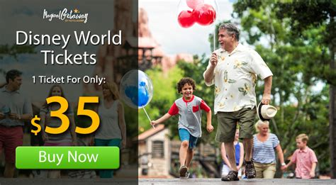 Disney World Tickets Orlando