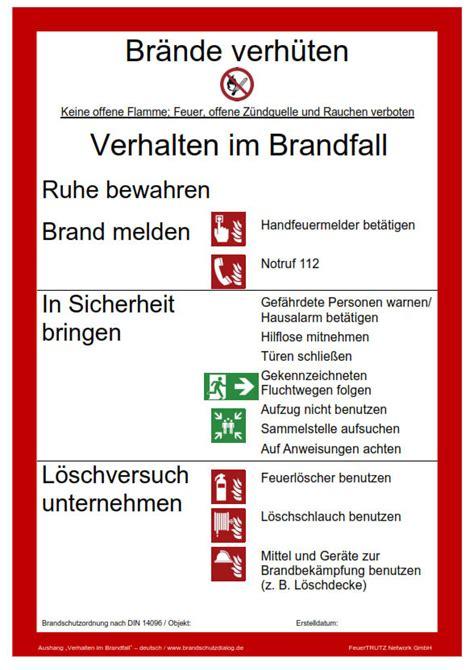 brandschutz im handel brandschutz publikationen