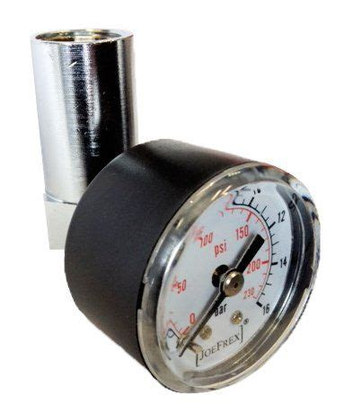 The brew pressure gauge shows you how many 'bars' of pressure are being applied by your machine throughout the brewing process, learn how to use this to get great coffee every time. Pressure Gauge Check Kit | Gauge kit, Portafilters, Pressure gauge