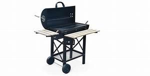 Prix D Un Barbecue : barbecue charbon serge smoker americain fumoir ~ Premium-room.com Idées de Décoration