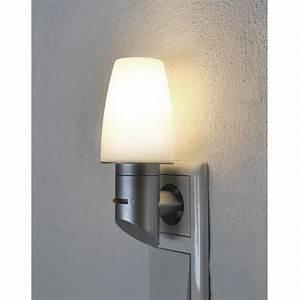 Lampe Mit Bewegungsmelder Und Schalter : steckdosenlampe steckerlampe steckerleuchte schalter mit 9w sparlampe ebay ~ Markanthonyermac.com Haus und Dekorationen