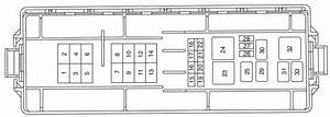 Mercury Sable Fourth Generation  2000 - 2005 - Fuse Box Diagram