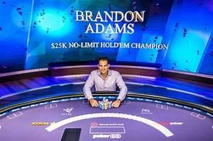 Brandon Adams wins Poker Masters Event with 25k$ buyin.