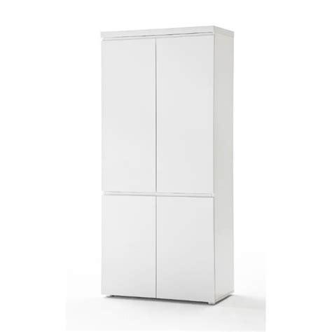 armoire bureau discount armoire de bureau design carl ii coloris blanc laqu 233 l