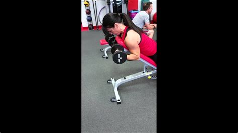 Decline Dumbbell Bicep Curl