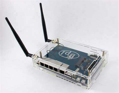 59 931 просмотр 59 тыс. Dual Ethernet Banana Pi R1 100 Dbi Wifi Antenna Router ...