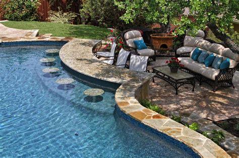 33 Mega-impressive Swim-up Pool Bars Built For Entertaining