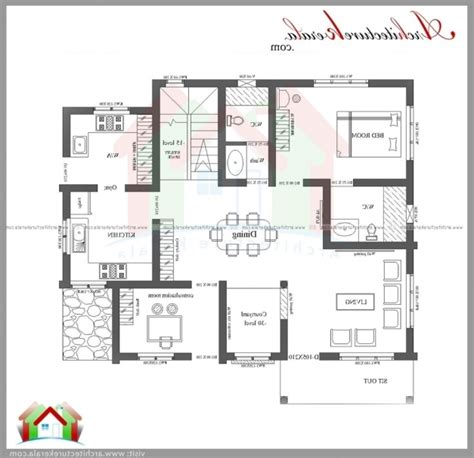 Smart Home Plan Kerala - House Floor Plans