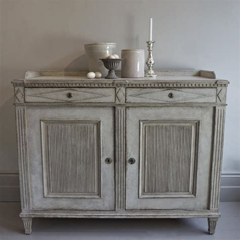 Gustavian Sideboard by Exceptional Swedish Gustavian Style Sideboard In Furniture